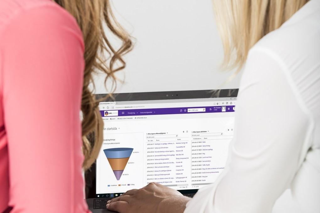 Stärk dina relationer med CRM-Konsulterna och Microsoft Dynamics 365