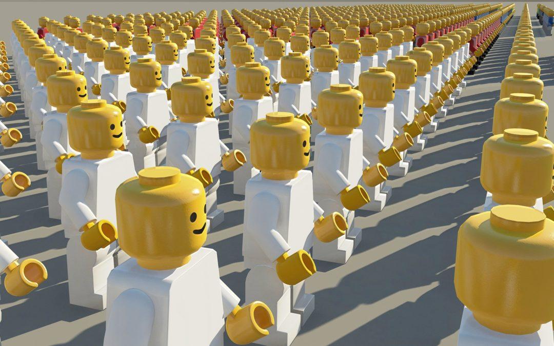 Lego kan ge förståelse för effektiv säljprocess