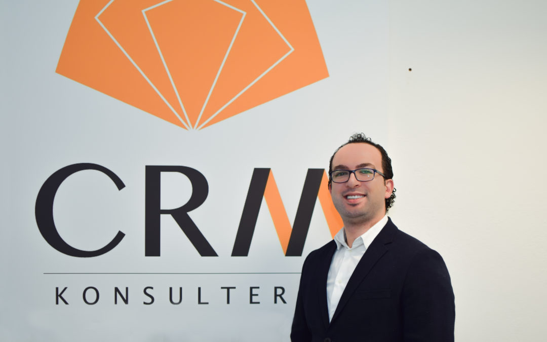Ny utvecklare till CRM-Konsulterna: Najib Shakkour
