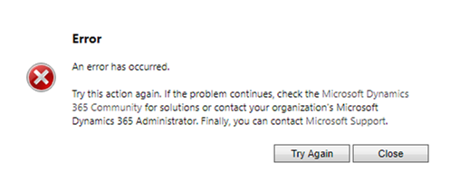 Unable to open Case entity forms - any of them    - CRM-Konsulterna